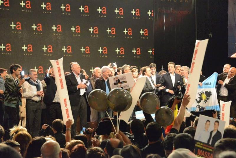 El Frente Renovador cerró la campaña. 00123