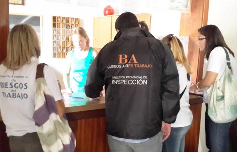 SEGURIDAD - Trabajo infraccionó establecimientos en Mar del Plata por irregularidades en higiene y seguridad 00152