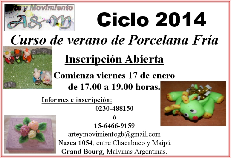 Malvinas Argentinas: Ciclo 2014 en Arte & Movimiento. Aviso_12