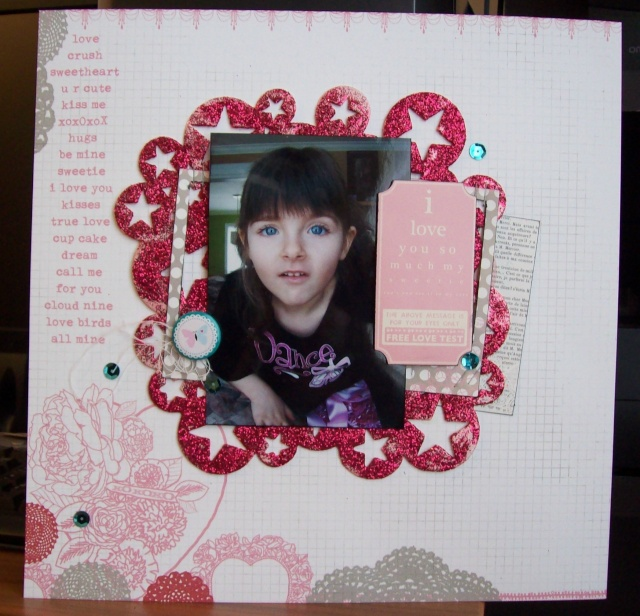 Luxe - Pink Paislee - Placemat 101_3714