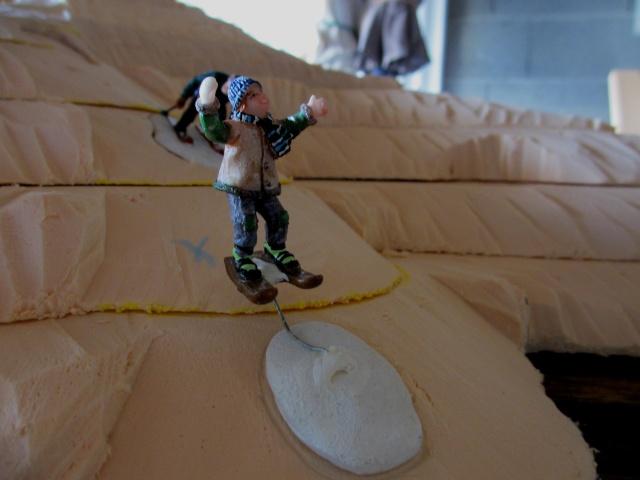 Piste de ski 410