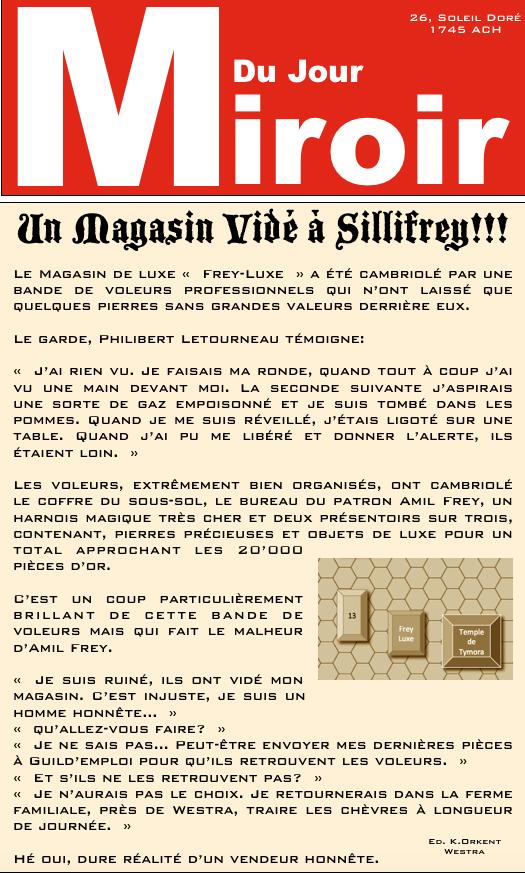 Le Miroir Du Jour Mdj-1010