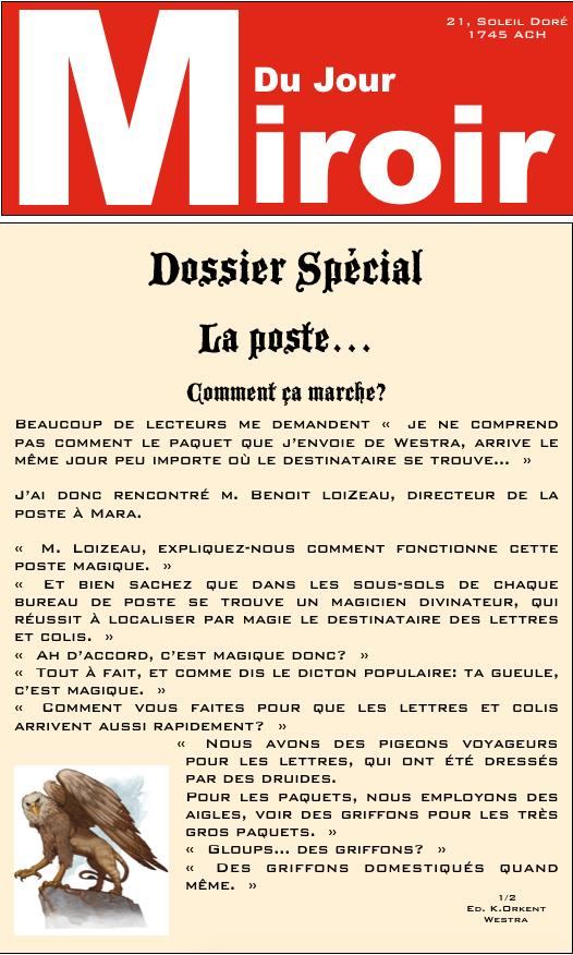Le Miroir Du Jour Mdj-7a10