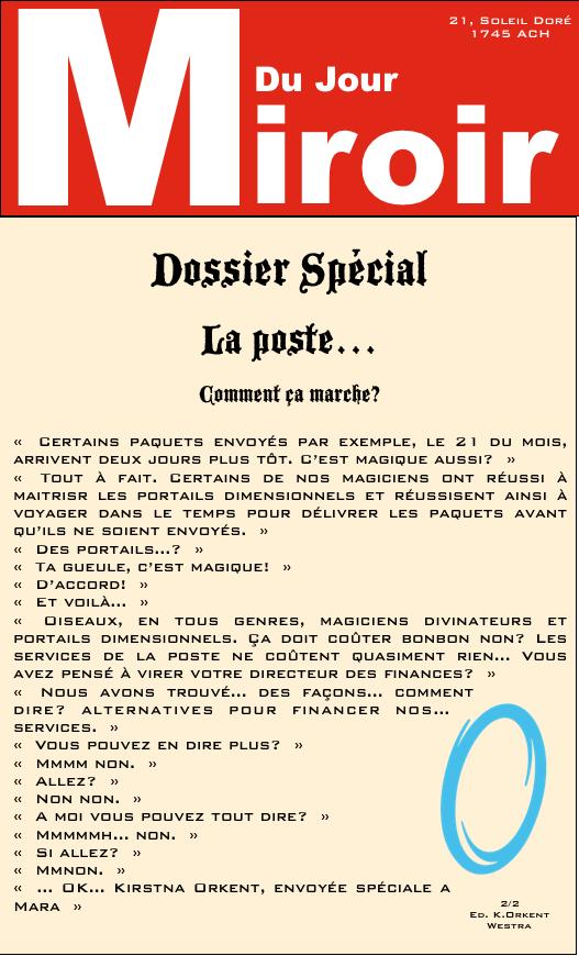 Le Miroir Du Jour Mdj-7b10
