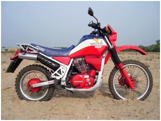 L'effet G/S sur les trail des années 80. Honda11