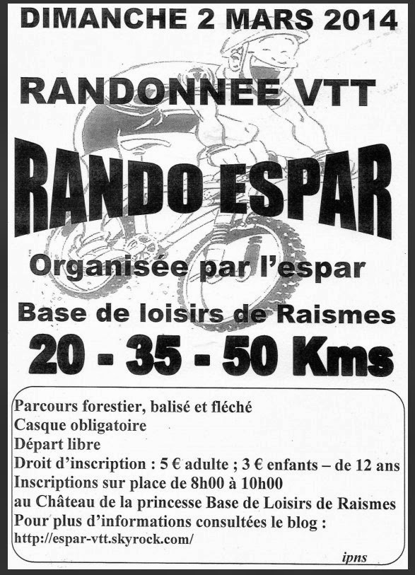 Raismes (59) le 02/03/2014 Vtt-ra10