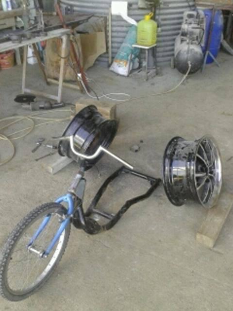 Low Bike Trike 10578810