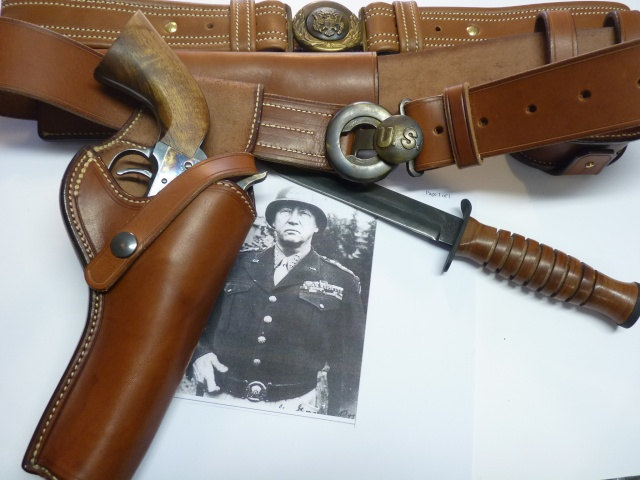 """COLT 45 """"WILD BUNCH"""" HOLSTER by SLYE P1070010"""