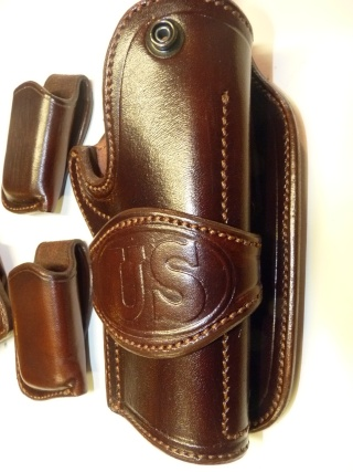 "COLT 45 ""WILD BUNCH"" HOLSTER by SLYE P1080611"