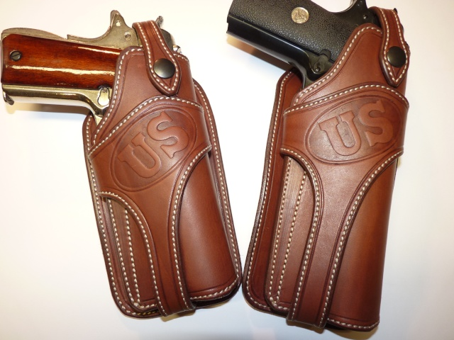 """COLT 45 "" WILD BUNCH HOLSTER by SLYE P1140143"