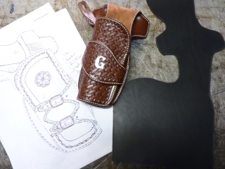 "HOLSTER ""WILD BUNCH"" by SLYE P1140417"