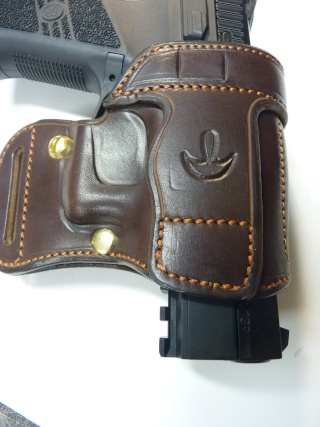 "HOLSTER AMBIDEXTRE : le ""PRACTIC"" by SLYE P1140632"
