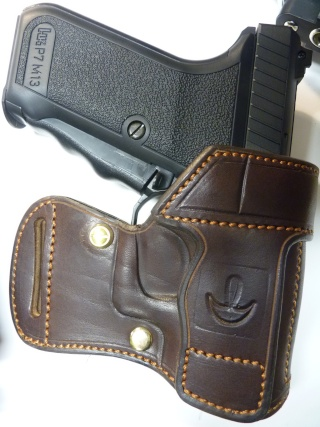 "HOLSTER AMBIDEXTRE : le ""PRACTIC"" by SLYE P1140634"
