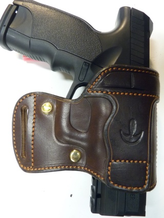 "HOLSTER AMBIDEXTRE : le ""PRACTIC"" by SLYE P1140635"