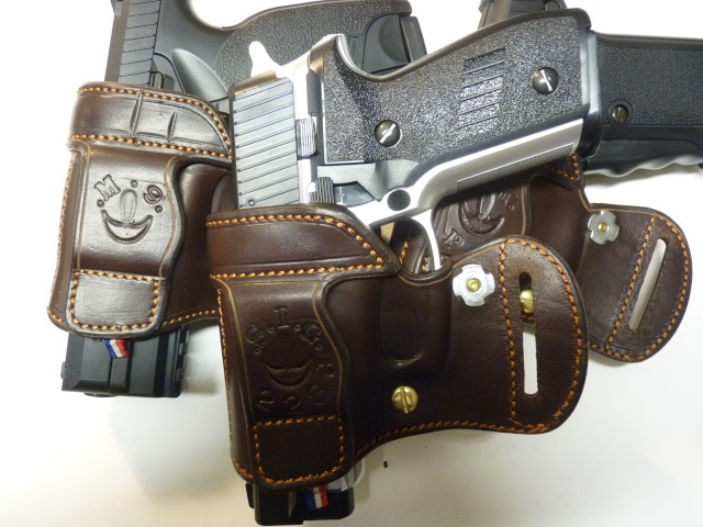 "HOLSTER AMBIDEXTRE : le ""PRACTIC"" by SLYE P1140636"