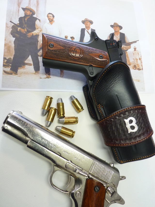"COLT 45 ""WILD BUNCH"" HOLSTER by SLYE P1140730"