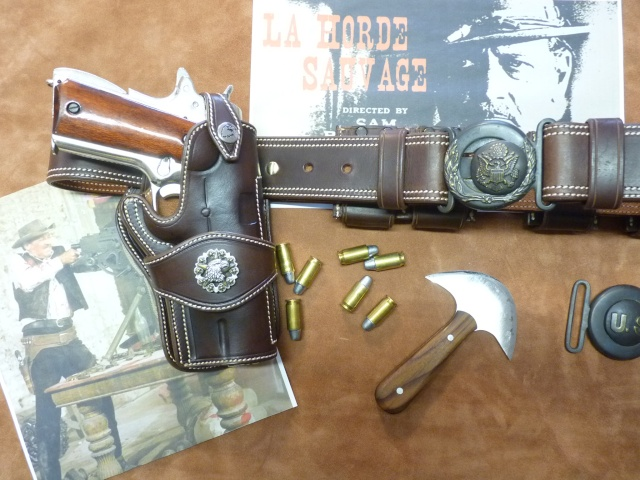 "COLT 45 ""WILD BUNCH"" HOLSTER by SLYE P1140740"