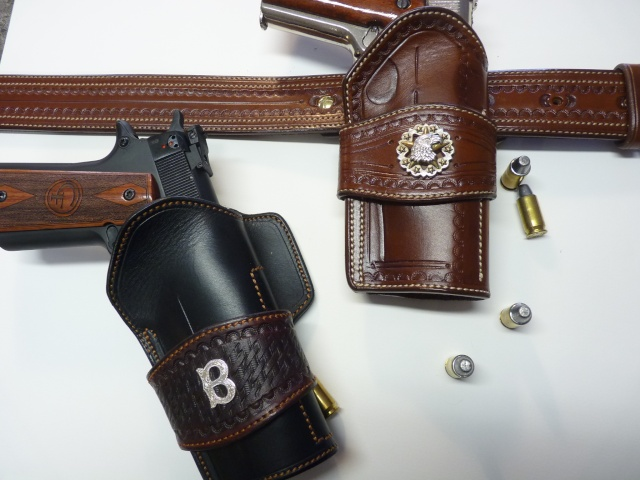 "COLT 45 ""WILD BUNCH"" HOLSTER by SLYE P1140810"