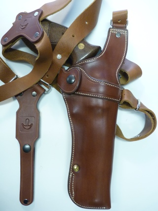 """HOLSTER d'AISSELLE """"Le TRADITIONAL"""" by SLYE P1140850"""