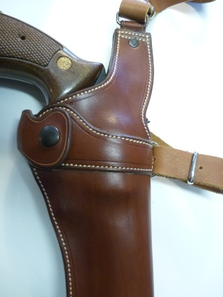"""HOLSTER d'AISSELLE """"Le TRADITIONAL"""" by SLYE P1140851"""