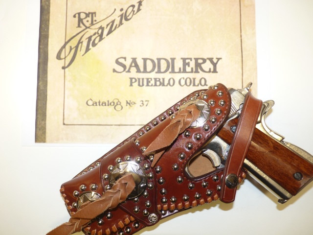 """""""FRAZIER"""" COLT 45 HOLSTER by SLYE P1140922"""