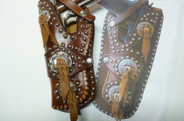 """""""FRAZIER"""" COLT 45 HOLSTER by SLYE P1140923"""