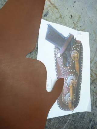 """""""FRAZIER"""" COLT 45 HOLSTER by SLYE P1140924"""