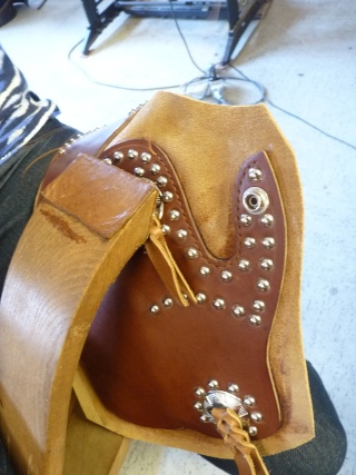 """""""FRAZIER"""" COLT 45 HOLSTER by SLYE P1140928"""