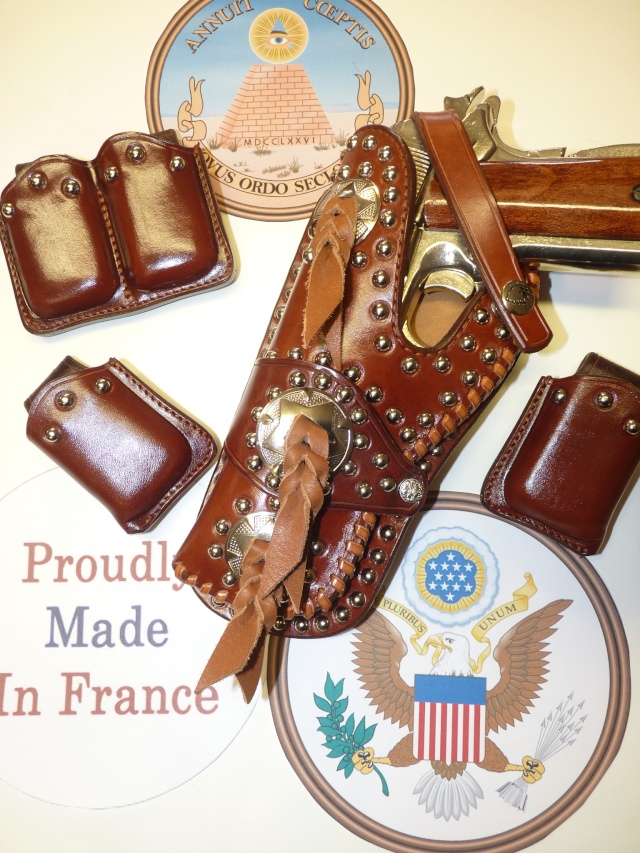 """""""FRAZIER"""" COLT 45 HOLSTER by SLYE P1140932"""