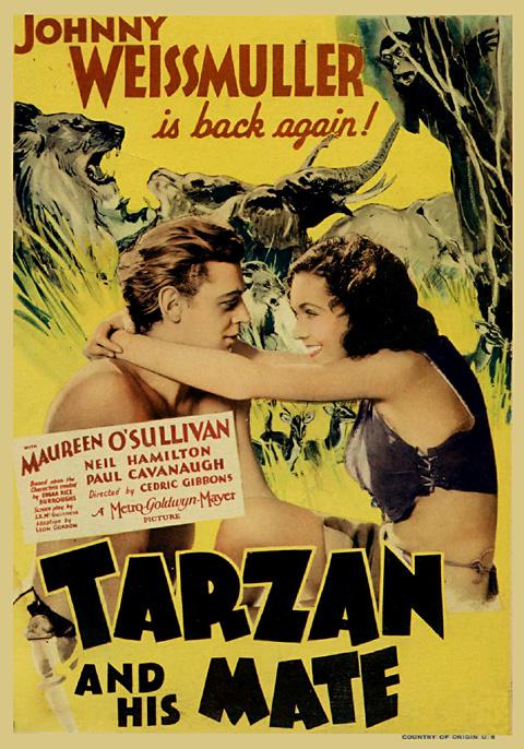 Tarzan i Njegova Žena (Tarzan And His Mate) (1934) 34-pos10