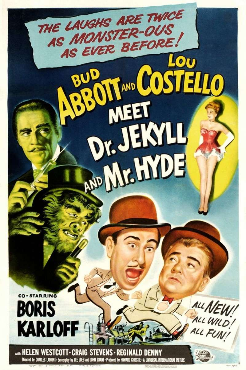 Abbott And Costello Meet Dr. Jekyll And Mr. Hyde (1953) Abbott10