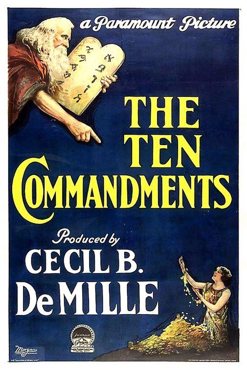 Deset Zapovesti (The Ten Commandments) (1923) Comman10