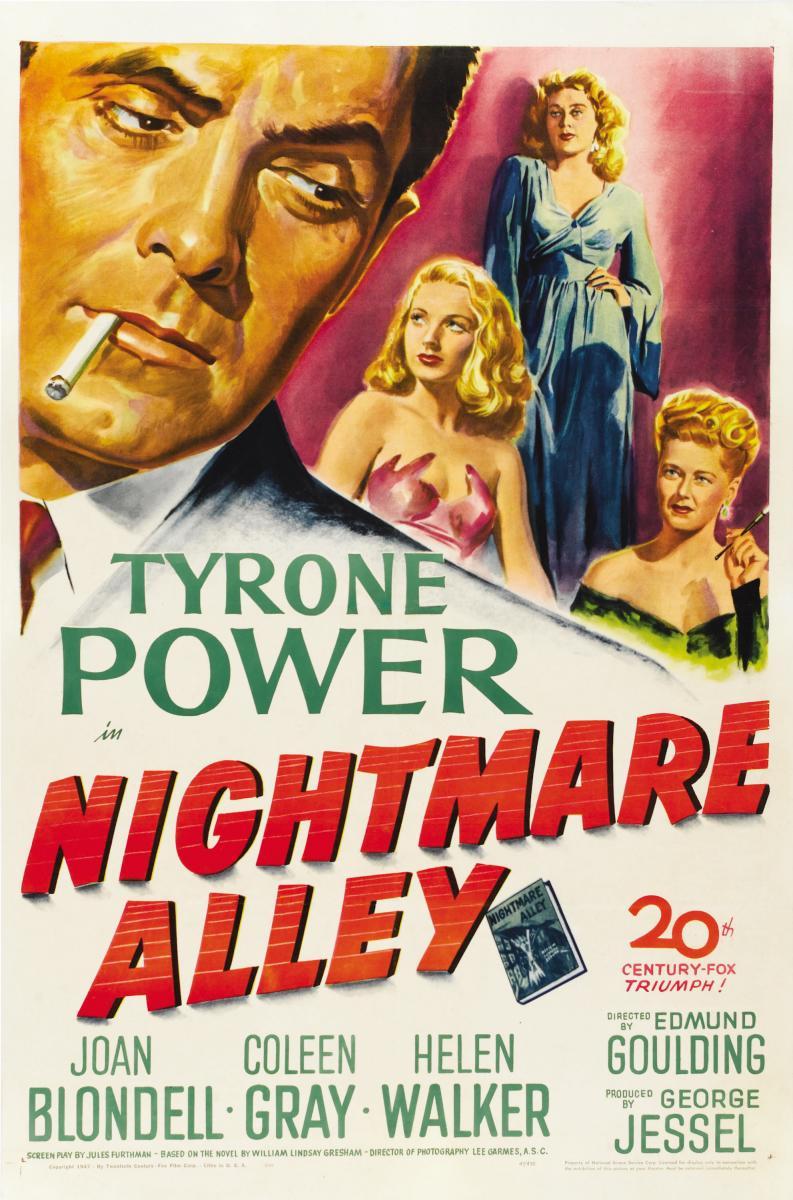 Aleja (Ulica) Noćnih Mora (Nightmare Alley) (1947) El_cal10