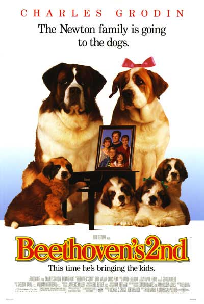 Betoven 2 (Beethoven's 2nd) (1993) Poster14