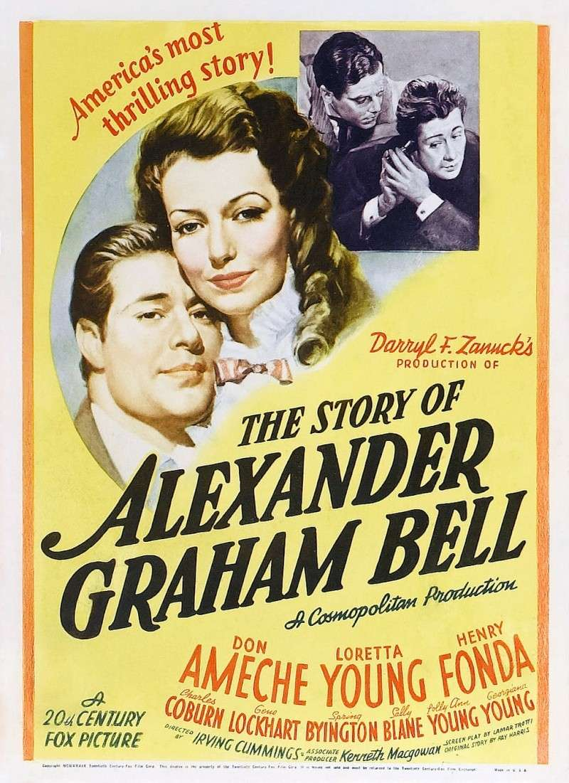 Priča o Aleksandaru Grahamu Belu (The Story Of Alexander Graham Bell) (1939) Poster17