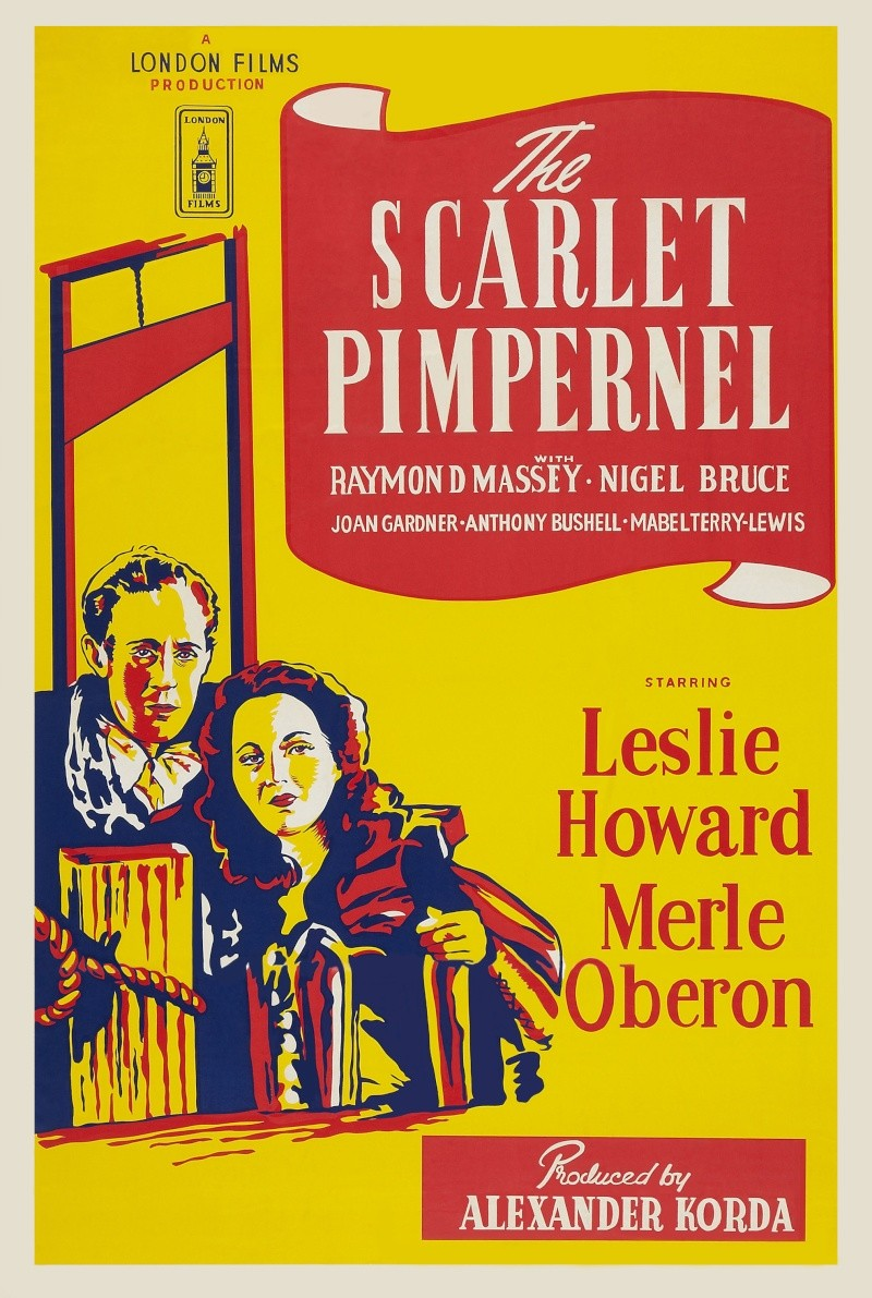 The Scarlet Pimpernel (1934) Poster19
