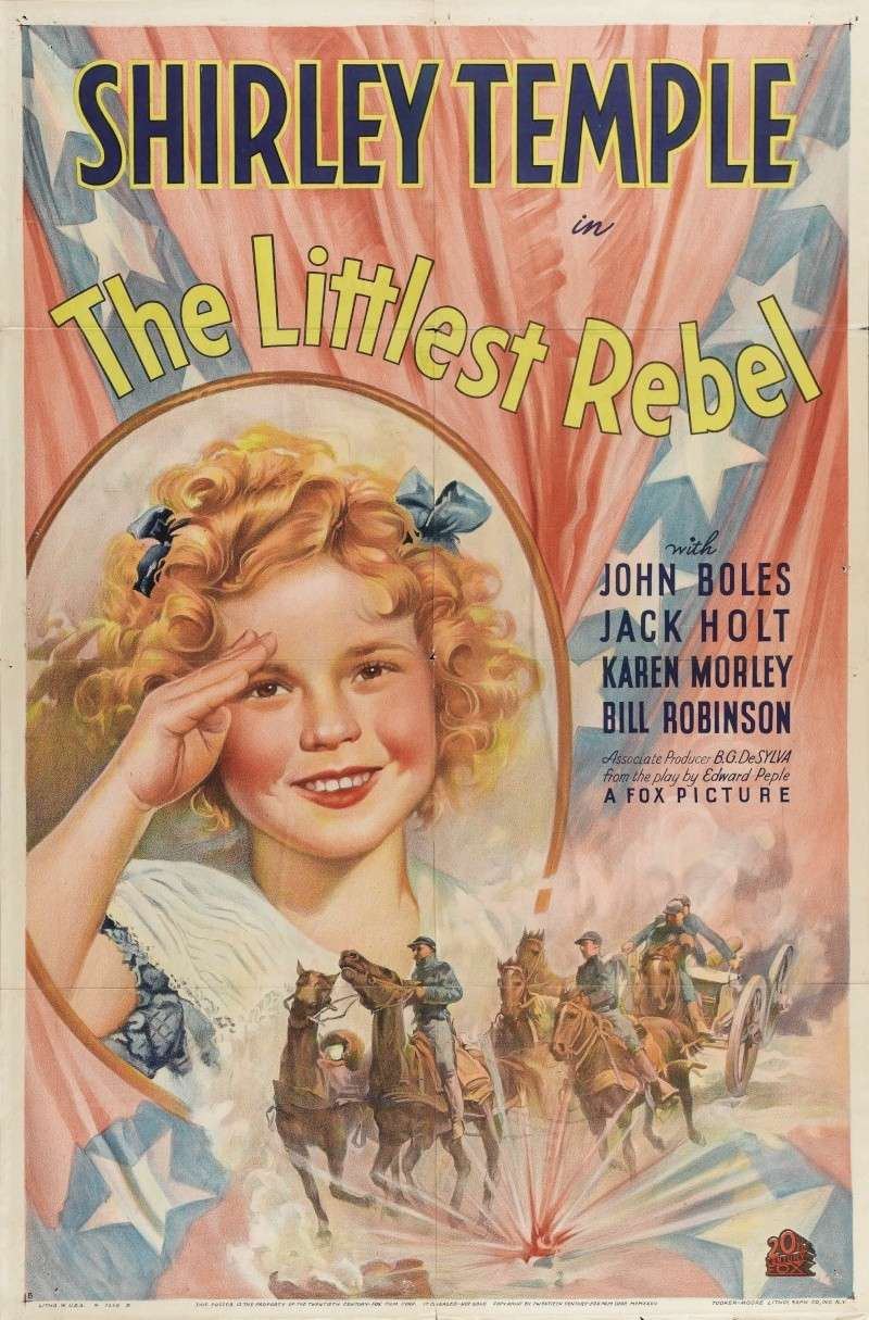 Najmanji Pobunjenik (The Littlest Rebel) (1935) Poster28