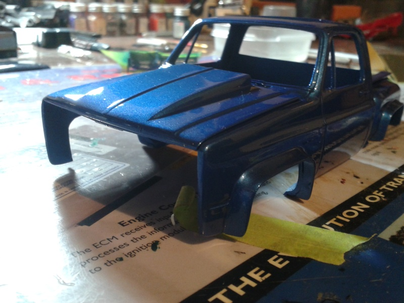2 ieme vie chevy pick up sod buster  05310