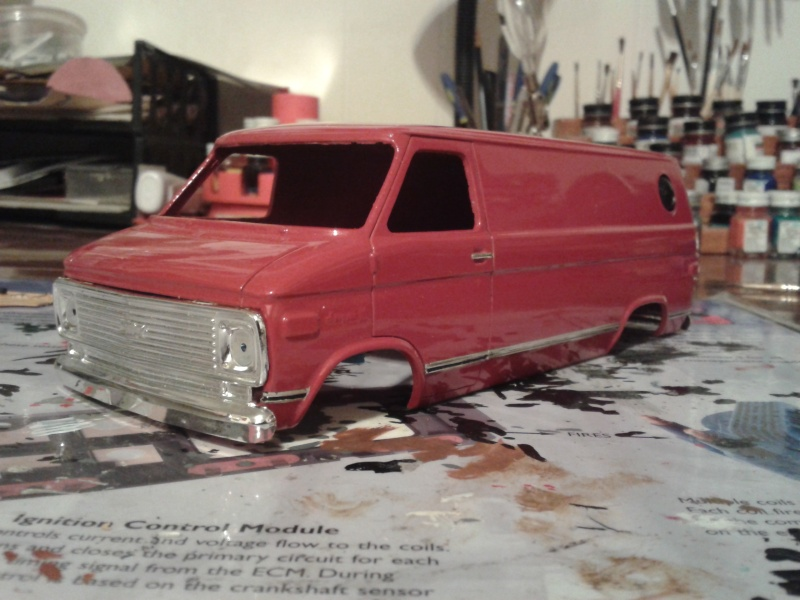 restauration mpc chevy van foxy box Chevy_26