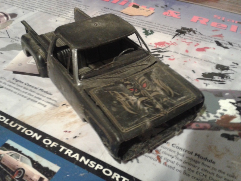 restauration mpc chevy van foxy box Warloc11