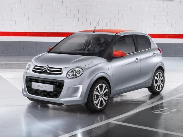 2014 - [Citroën/Peugeot/Toyota] C1 II/108/Aygo II Citroe11