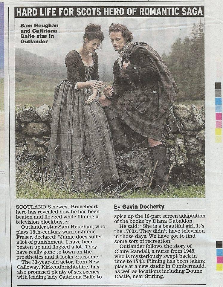 Adaptation cinématographique de Outlander (Le Chardon et le Tartan) de Diana Gabaldon - Page 2 15112310