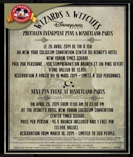 Pin Trading Event Wizards and Witches 26 avril 2014 Captur27