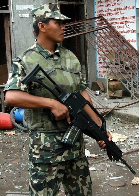 Armée Népalaise G36nep10