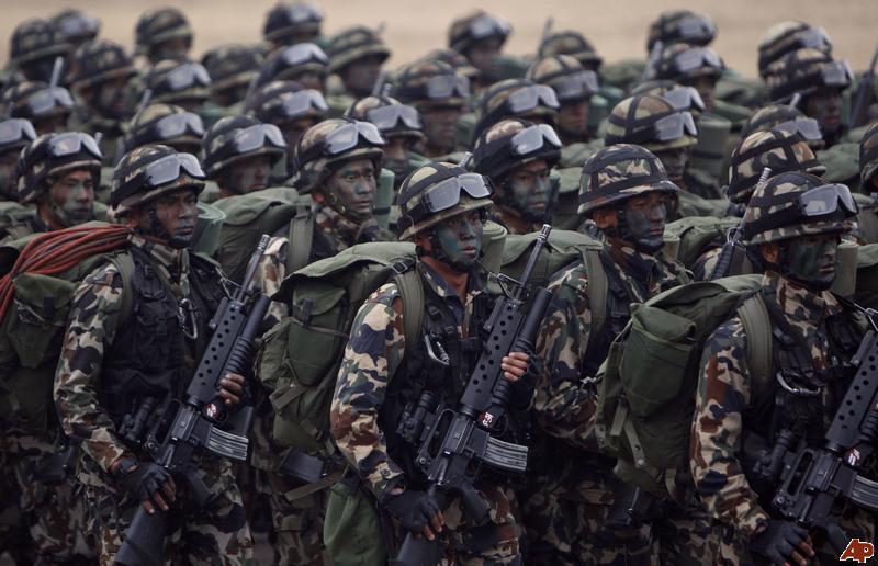 Armée Népalaise Nepal-10
