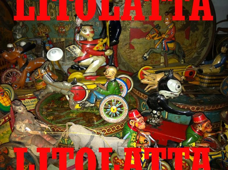 GIOCATTOLI DI LATTA ITALIANI cerco Litola10
