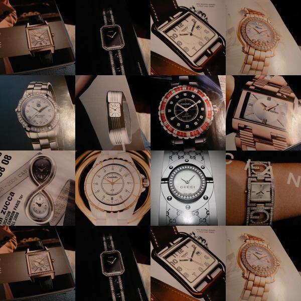 Pour quelle raison les montres sont souvent présentées avec l'affichage de l'heure à 10H10 ? Il-est10