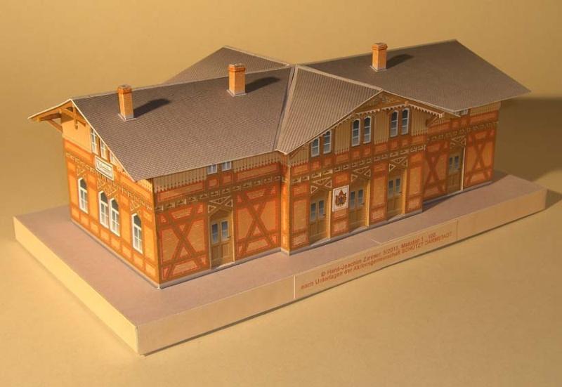 Architekturmodelle von Hans-Joachim Zimmer Bhf_os12