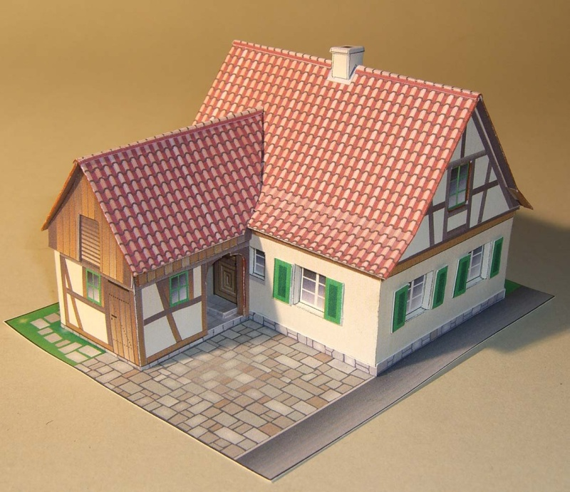 Architekturmodelle von Hans-Joachim Zimmer Franke10