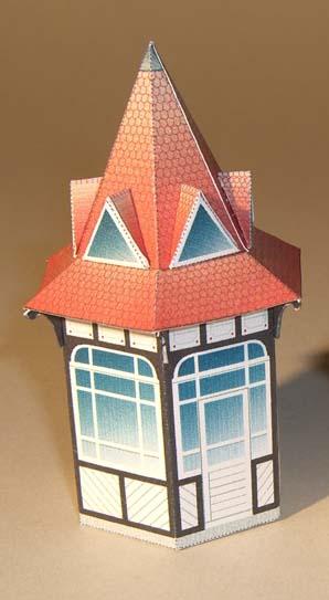 Architekturmodelle von Hans-Joachim Zimmer Garten10